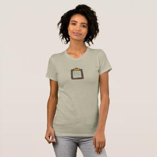 Einfache Aufgabe getanes Ikonen-Shirt T-Shirt