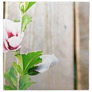Einfache Blume Stoffserviette