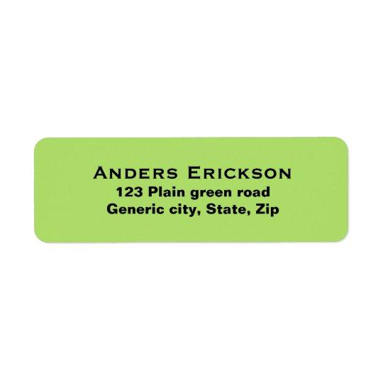 Einfache einfache grüne Hintergrundschwarz-Textgew
