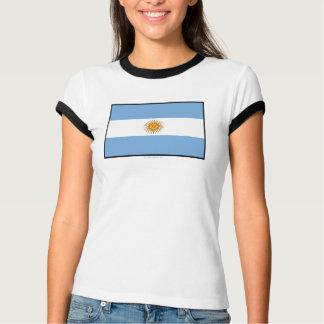 Einfache Flagge Argentiniens T-Shirt