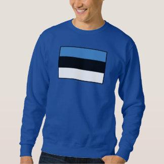Einfache Flagge Estlands Sweatshirt