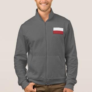 Einfache Flagge Polens Jacke