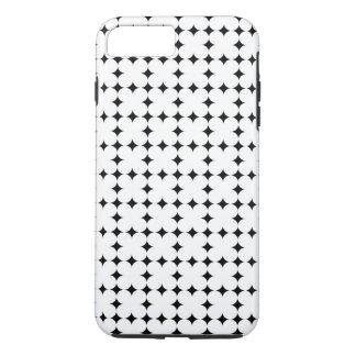 EINFACHE GEOMETRISCHE FORM-MUSTER-BESCHAFFENHEIT iPhone 8 PLUS/7 PLUS HÜLLE