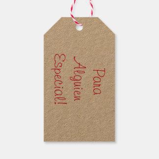 Einfache Geschenkumbauten Geschenkanhänger