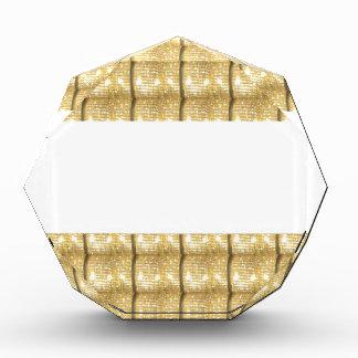 Einfache GOLDstreifen FREIER RAUM Schablone Auszeichnung
