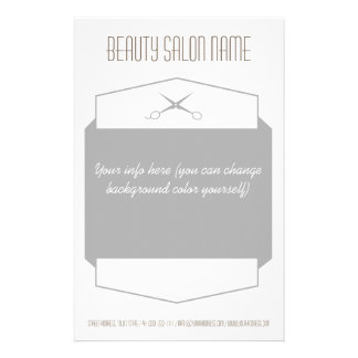 Einfache graue 14 x 21,6 cm flyer