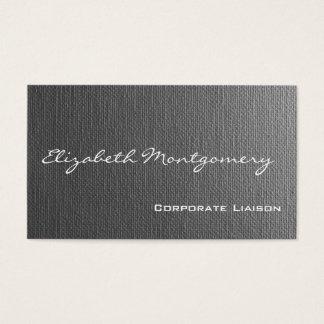 Einfache graue moderne berufliche Geschäfts-Karten Visitenkarten