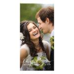 Einfache Handschrift Wedding | danken Ihnen Foto-K Bilder Karten