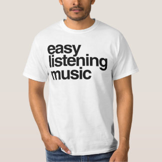 Einfache hörende Musik T-Shirt