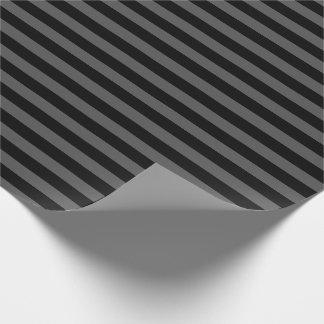 Einfache horizontale Streifen Geschenkpapier