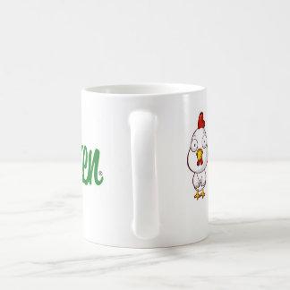 Einfache Huhn-Kaffee-Tasse Kaffeetasse