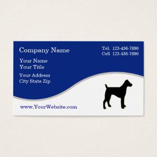 Einfache HundeVisitenkarten Visitenkarten