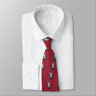 Einfache illustrierte Eule Krawatte