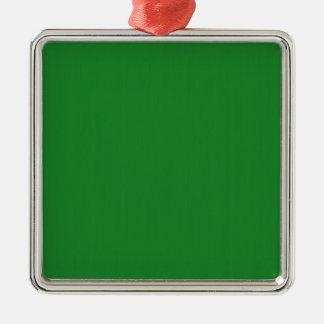 Einfache leere Rot-Schatten DIY addieren Silbernes Ornament
