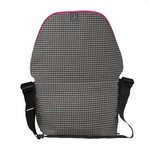 Einfache neutrale Retro Bote-Tasche Kurier Tasche