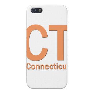 Einfache Orange CT Connecticut iPhone 5 Schutzhülle