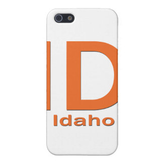 Einfache Orange Identifikation Idaho iPhone 5 Case