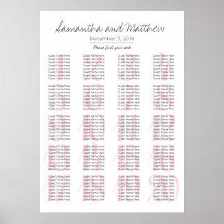 Einfache romantische erröten Hochzeit - mehr Poster