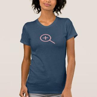 Einfache rosa summen herein Ikonen-Shirt laut T-Shirt