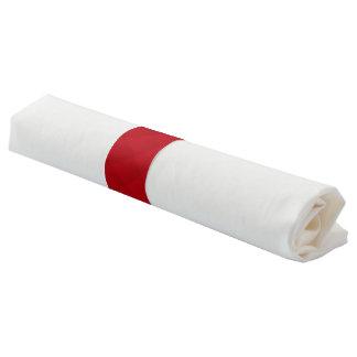 Einfache rote Farbe Serviettenband