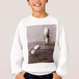 Einfache Sachen - Mann und Hund Sweatshirt