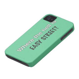 Einfache Straße iPhone 4 Case-Mate Hüllen