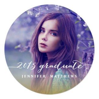 Einfache Tafel-Abschluss-Party Einladung 2015