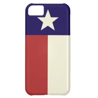 Einfache Texas-Flagge iPhone 5C Hülle
