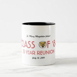 Einfache Wiedervereinigung 1984 Zweifarbige Tasse