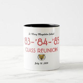 Einfache Wiedervereinigung alle Klasse Zweifarbige Tasse