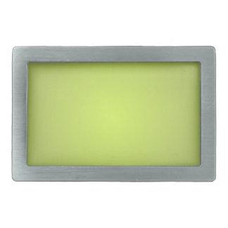Einfache Zitrone Limon Rechteckige Gürtelschnalle