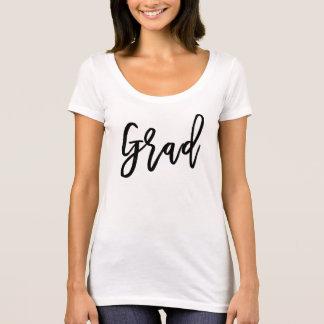 Einfacher Abschluss-Skript-T - Shirt