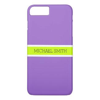 Einfacher Amethyst Hintergrund-moderner eleganter iPhone 8 Plus/7 Plus Hülle