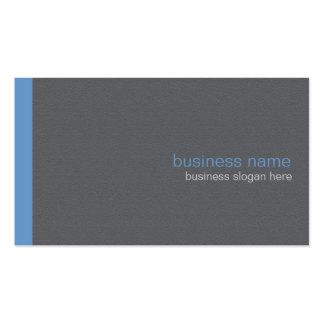 Einfacher eleganter moderner einfacher blauer visitenkarten