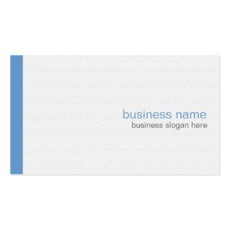 Einfacher eleganter moderner einfacher blauer visitenkartenvorlagen