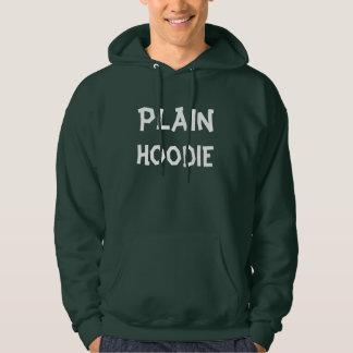 Einfacher grüner Hoodie