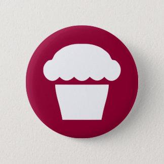 einfacher kleiner Kuchen/Muffin Runder Button 5,7 Cm