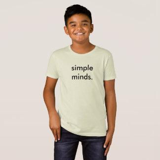 Einfacher Sinneslustiger KinderschulT - Shirt