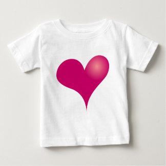Einfacher Valentinsgruß Baby T-shirt