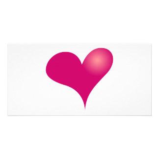 Einfacher Valentinsgruß Fotokarten