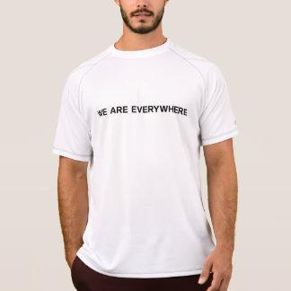EINFACHES (b) - Meister-doppelte trockene Masche T-Shirt