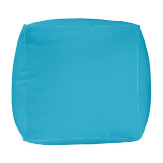 einfaches Blau Hocker