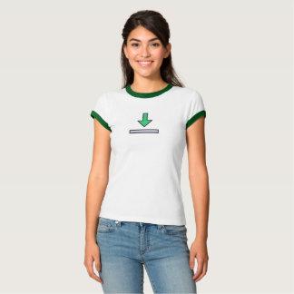 Einfaches Download-Ikonen-Shirt T-Shirt