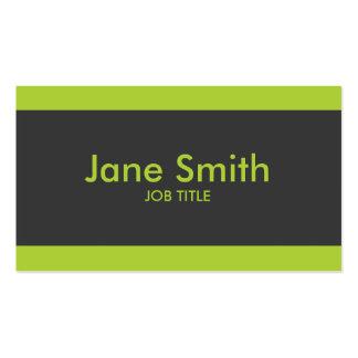 Einfaches einfaches modernes berufliches visitenkartenvorlage
