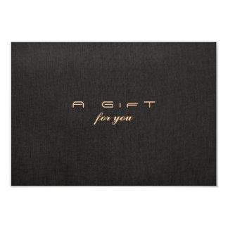 Einfaches elegantes 8,9 x 12,7 cm einladungskarte