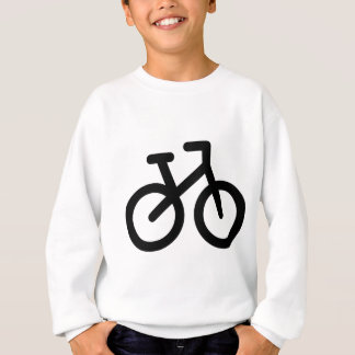 Einfaches Fahrrad Sweatshirt