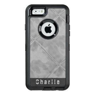 Einfaches Fliesen-Keramik-Oberflächen-Grau OtterBox iPhone 6/6s Hülle