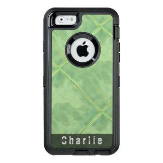 Einfaches Fliesen-Keramik-Oberflächen-Grün OtterBox iPhone 6/6s Hülle