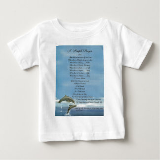 EINFACHES GEBET dolphins=pope francis= St Francis Baby T-shirt