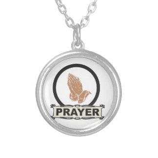 Einfaches Gebet Versilberte Kette